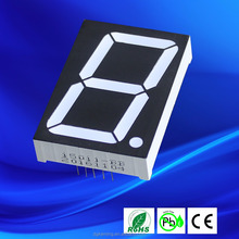 Common anode super red R15101 bue 1 digit 1.5 inch 7 segment led display