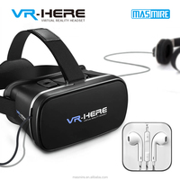 2017 best selling Smartphone Headset Virtual Reality VR box 3d video glasses