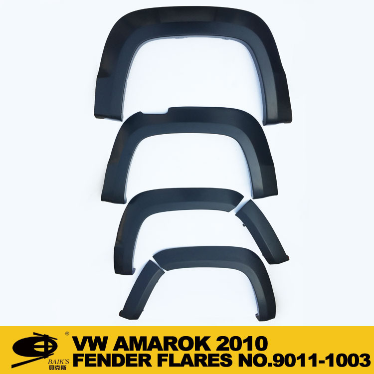 4 color OE Factory Style 6 Piece Set Fender Flares fits Pick up VOLKSWAGEN VW AMAROK 2010- on