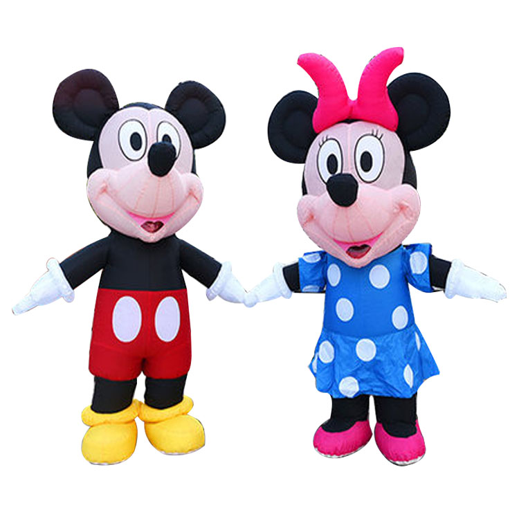 2018 wholesaleGiant Cartoon Factory inflatable mickey mouse