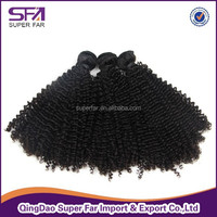 Best Quality Double Weft Full Cuticle synthetic curly hair weave