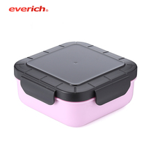 Everich fashion high quality tritan fresh food box food grade <strong>paper</strong> straw food plastic jar 170ml