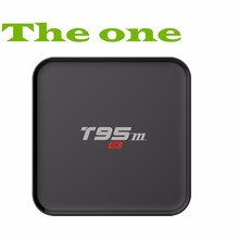 Best Set Tv Top Box Android 5.1 S905 T95m Smart Ott Box Metal Case 1gb 8gb Hot Selling Tv Box