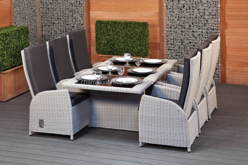 Retro Outdoor Wicker Dining Chairs | Interior Furniture Ideas