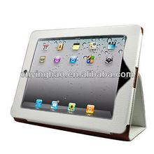 High quality antique stand leather case for ipad 2 ipad 3