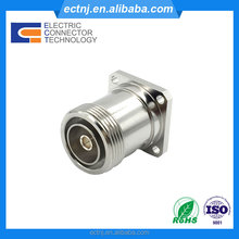 7/16 DIN Female Straight 4 Hole Flange RF Coaxial Connector