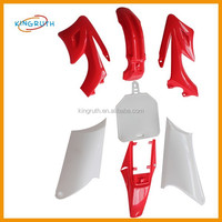 Red plastic set Orion Apollo type plastics fender cover For Pitbike