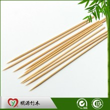 Barbeque Natural Eco-friendly Bbq Food Grad Flat Heart-shaped Barbecue Accessory Bamboo Skewer
