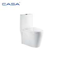 White Ceramic One Piece Siphonic Chinese Cheap Wc Toilets