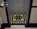 Factory Price PVC Elevator Mat Floor with Customized Pattern