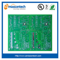 2 Layer Electronic PCB board manufacturing and SMT assembly