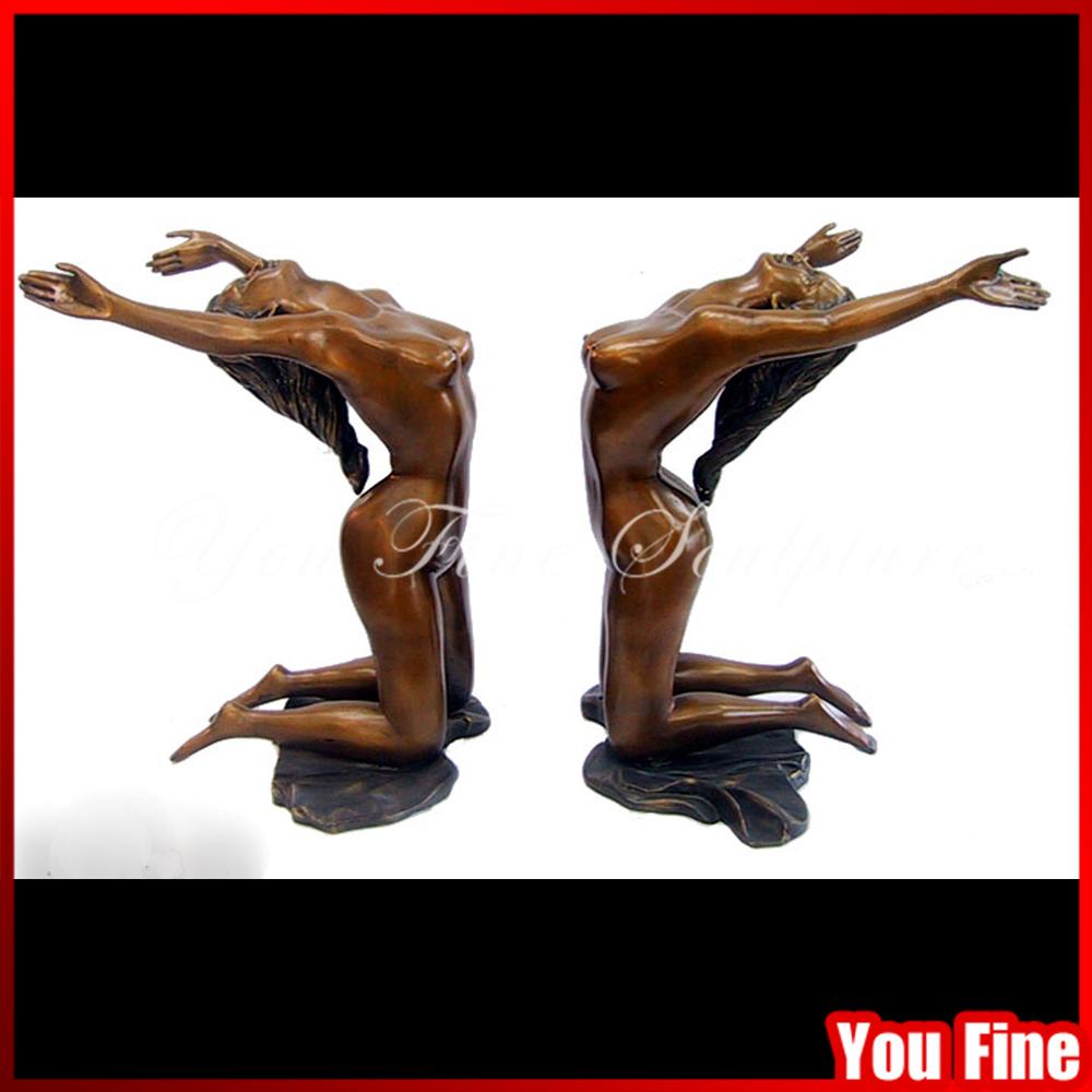 Bronze Statue Bronze Sculpture Decorative Bronze Glass