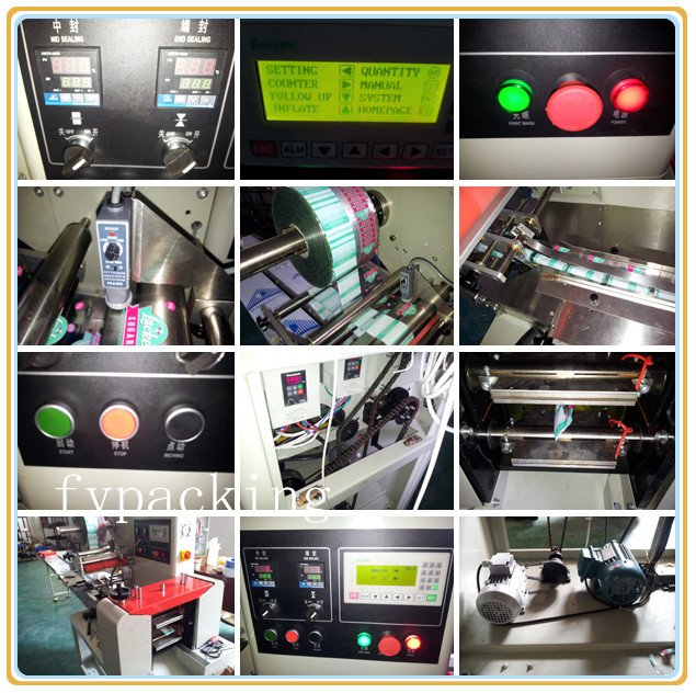 Automatic chocolate bar packcing machine