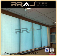 Sunscreen Roof Spring Roller Blinds 1% 3% 4% 5% 12% Openess with Parts