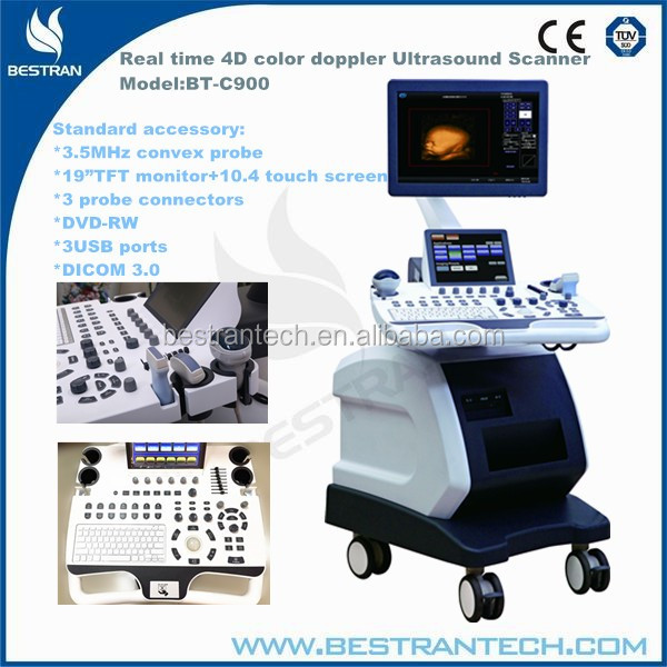 BT-C900 Hosptial Medical Ulatrasound Machine Digital Laptop Ultrasound Scanner Manufacturer