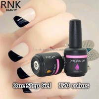 RNK BEAUTY BRAND HOT SALE one step uv led gel polish natural healthy nail gel with MSDS certificate support