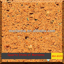 light salmon pink MA-G123 quartz stone for gas cooker countertop in Foshan