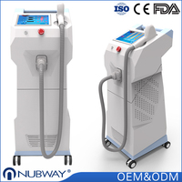 NUBWAY Direct Sale!!! High Quality Professional 808nm diode laser hair removal / beauty salon equipment for sale
