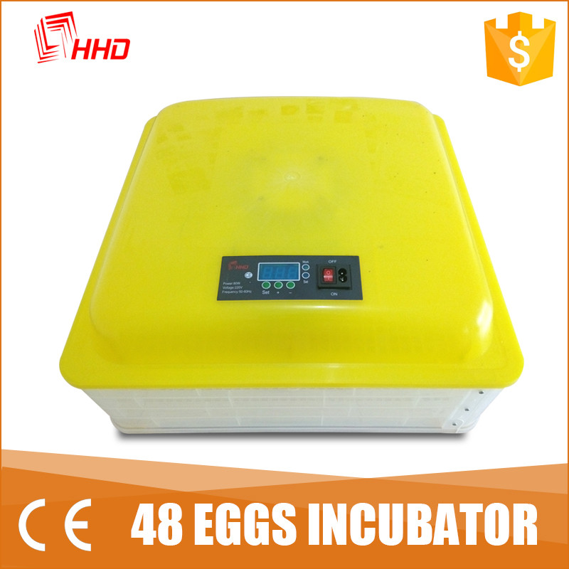 HHD YZ-48AB egg incubator poultry/bird/turkey automatic egg hatching machine for sale