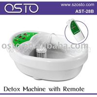 Detox ion foot spa with remote
