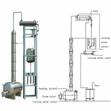 alcohol recovery tower / distillation equipment / distillation coulmn