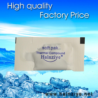 Mini bag HY880 thermal paste/grease/compound with higher thermal conductivity 5.15 use in cpu/led