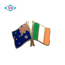 Hight quality united nation flag pin badge