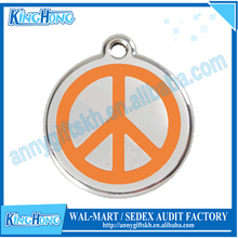Customized different shape die casting Pet Tags