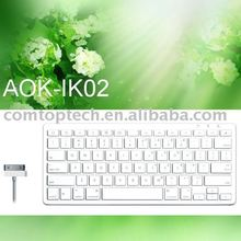 keyboard with ipad/iPhone interface for mobile phone