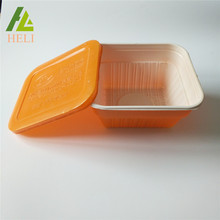 Cover Disposable Square Plastic Food Tray