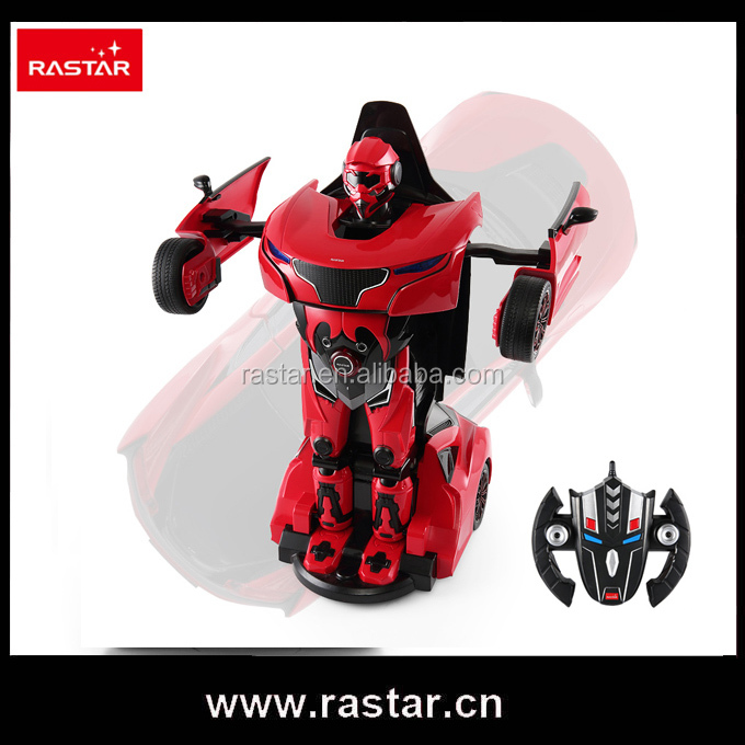 Rastar wholesale toy gift transform robot 1:14 scale rc car model