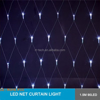 Colorful Net curtain 96led 3m LED Lights For Christmas Party Wedding Fairy