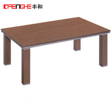 modern coffee table wooden coffee table D-048