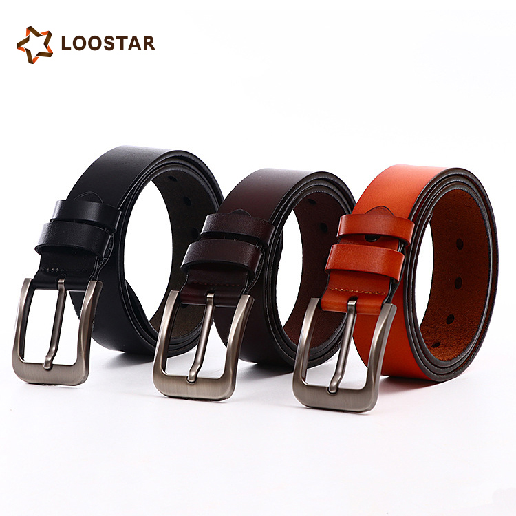 New Products 2018 Fashion Hot Sale Western Style Genuine Leather Man <strong>Belt</strong>
