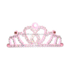 wedding tiara& crowns, pink promotional gift wedding party pageant crowns and tiaras