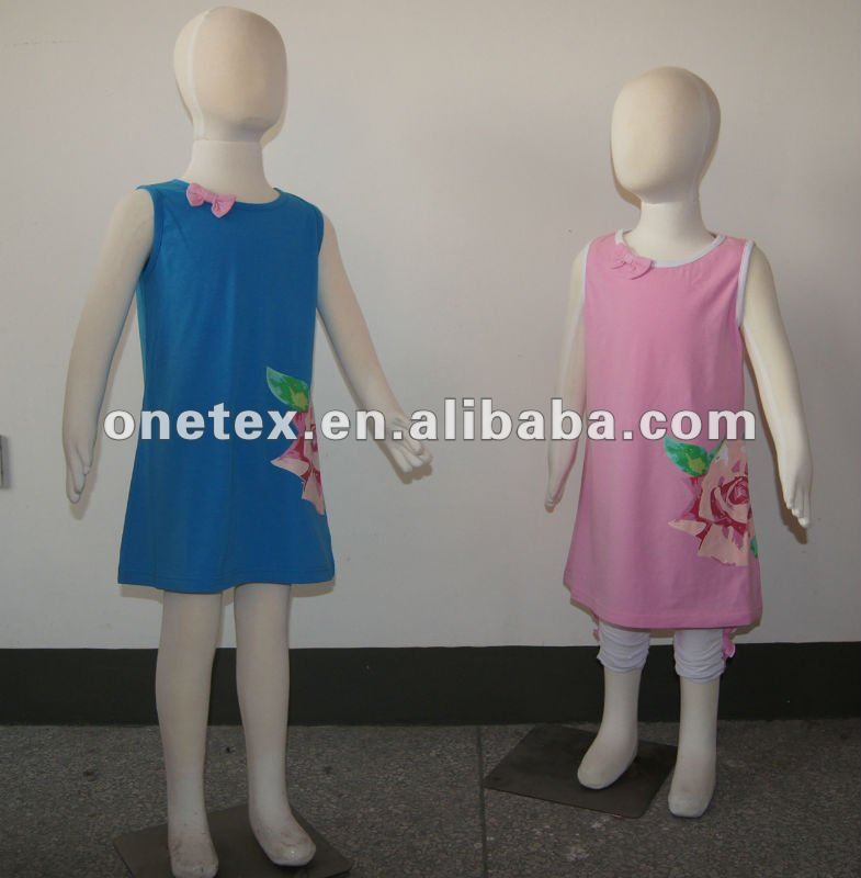 2012 fashion girls party dress