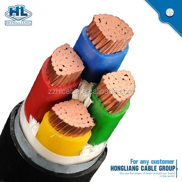 NYA NYAF NYY NYYHY NYFGBY Power cable 450/750V 0.6/1 kV PVC insulated and sheathed Fire resistant