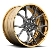 Popular Style 2 Piece 21 inch Customized Luxury Car Forged Inner Barrel Alloy Wheels Rim