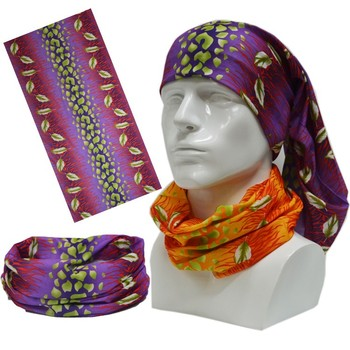 Microfiber Polyester Tube Seamless Bandana With Custom Printing No Minimum Quantity