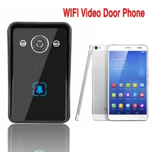Multi apartment battery powered wireless wifi video door phone intercom system