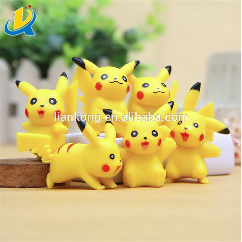 pocket monster pokemon pikachu poke ball anime plastic figure