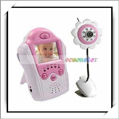 2.4GHz Wireless Camera Voice Control Baby Monitor