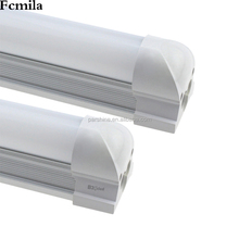 5730T8 integrated bracket lamp 1.2 meters LED fluorescent tube milk white transparent energy saving t8 lamp wholesale