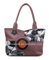 vintage London matching different color lady handbag