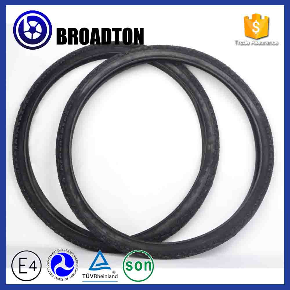 Professional solid rubber colored bicycle tire made in China