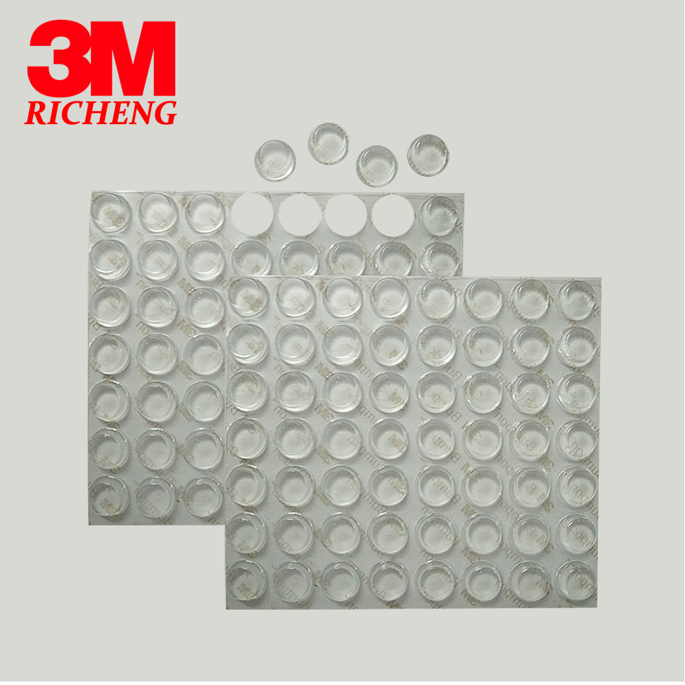3M Transparent Bumpon SJ5312 Silicone Rubber Feet For Chair Non-slip Shockproof Anti Slip Rubber Mat
