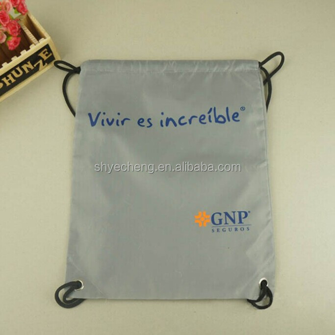 custom recycled waterproof polyester bag closer thread