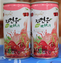 ISO Certification Natural Cherry Juice Drink Cool Summer Drink Fresh Fruit Mixture Juice Brand support