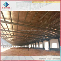 steel structure steel fabrication workshop or sports hall structure plants sheds low cost for sale