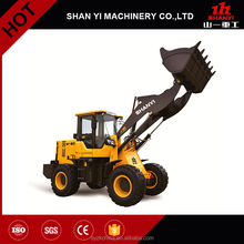 Farm tractor front end loader, tractor with front end loader and backhoe, ZL18F